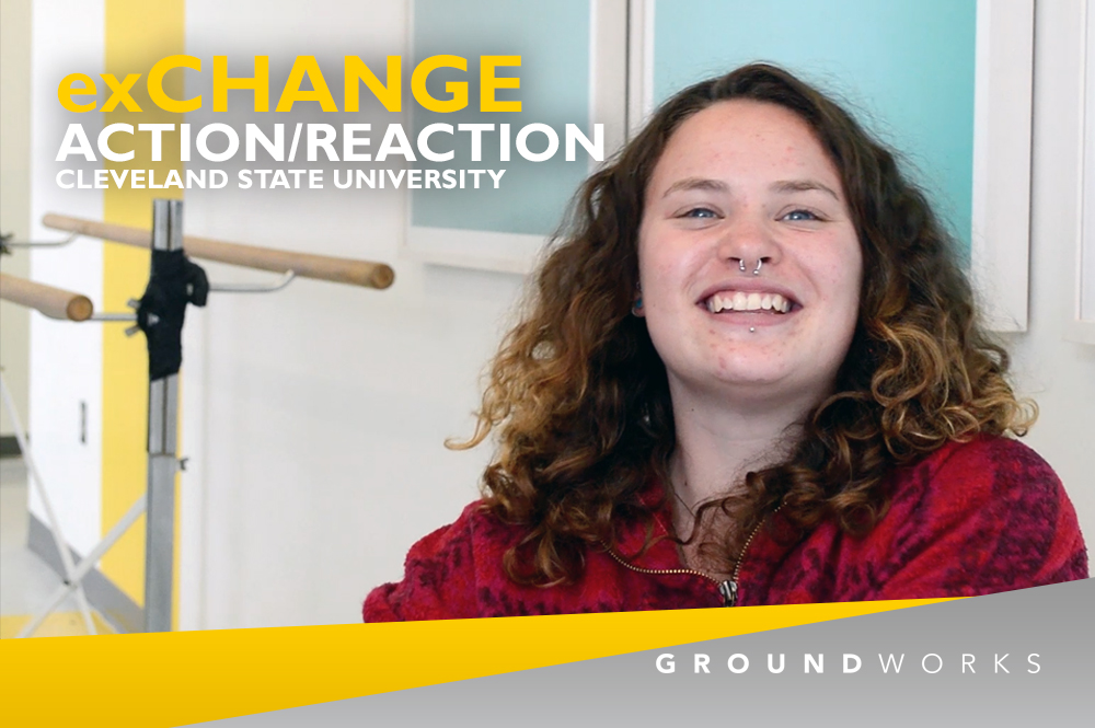 GroundWorks DanceTheater - Action/Reaction Cleveland State University - Charlie
