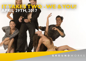 GroundWorks DanceTheater It Takes Two 2017
